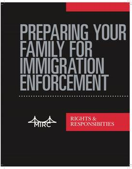 Preparing Your Family for Immigration Enforcement (English)