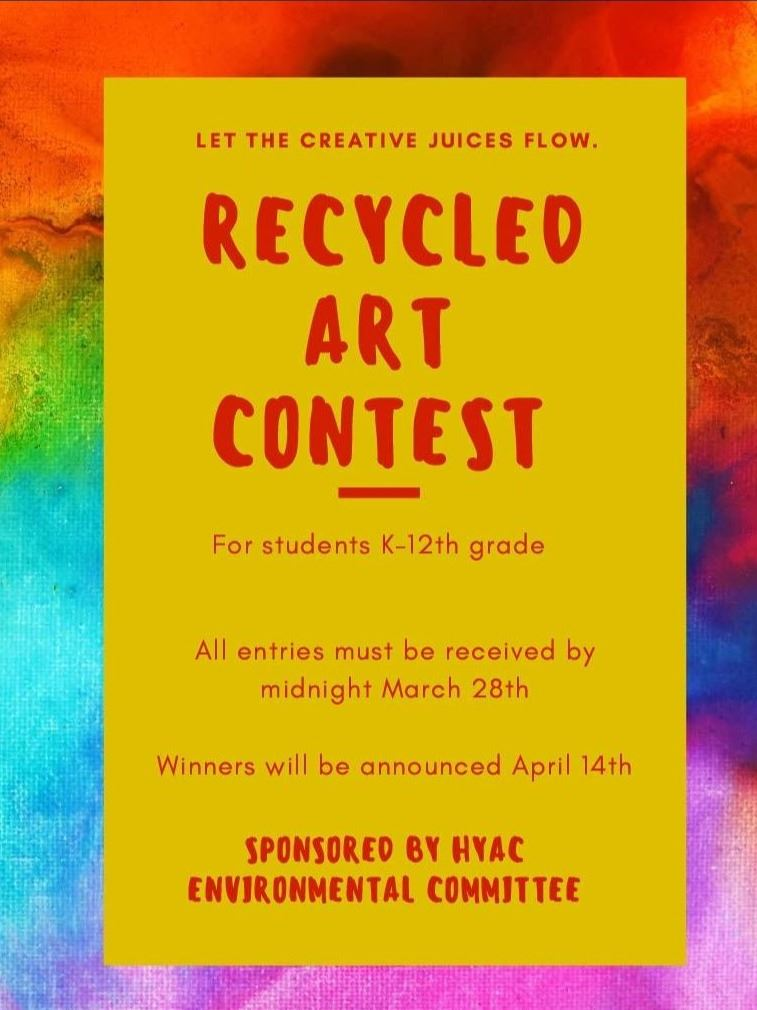 Recycled Art Competion flyer jpg