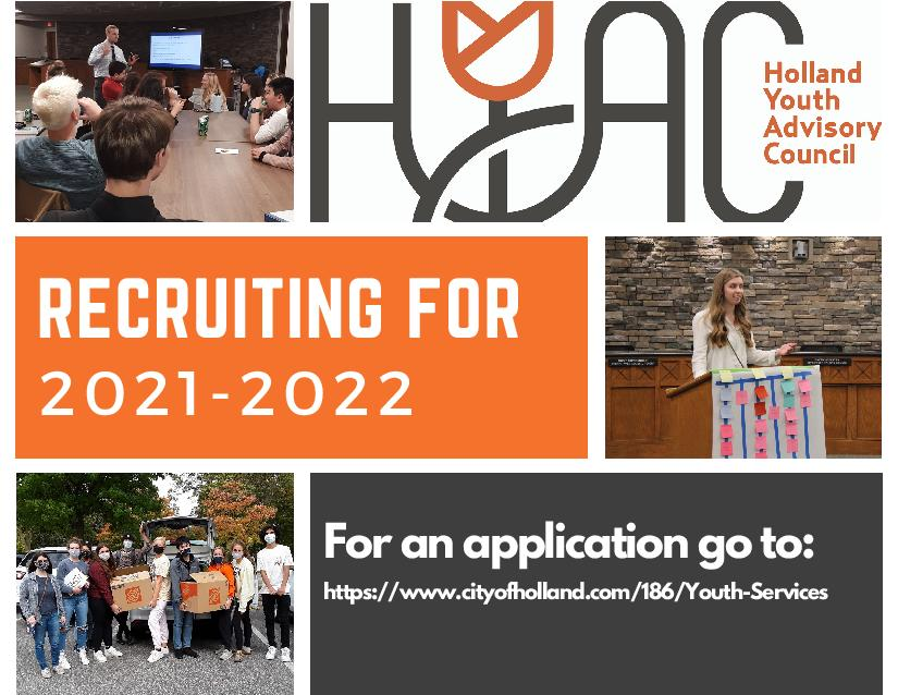 HYAC Recruitment Postcard