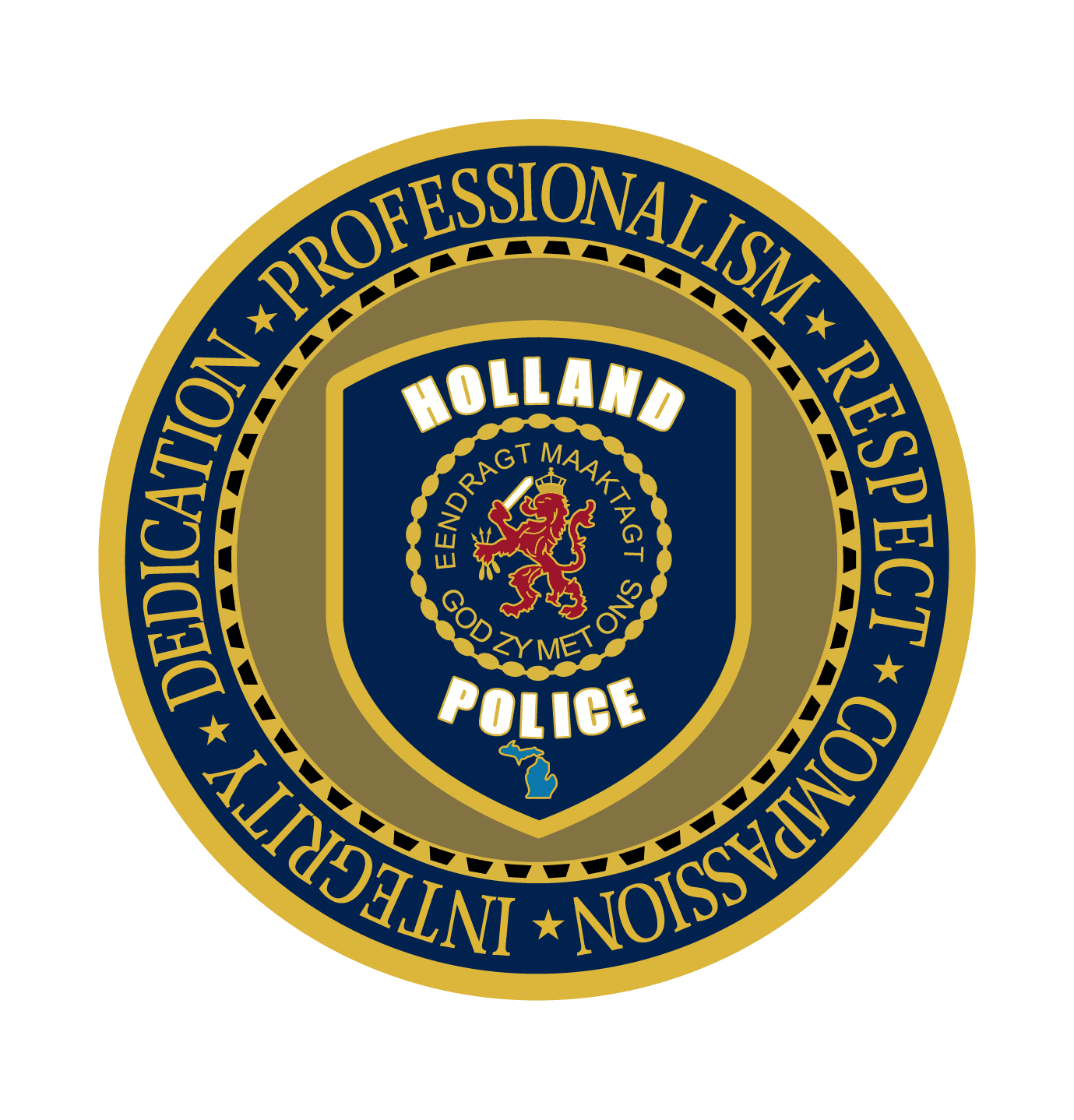 Holland Police Coin