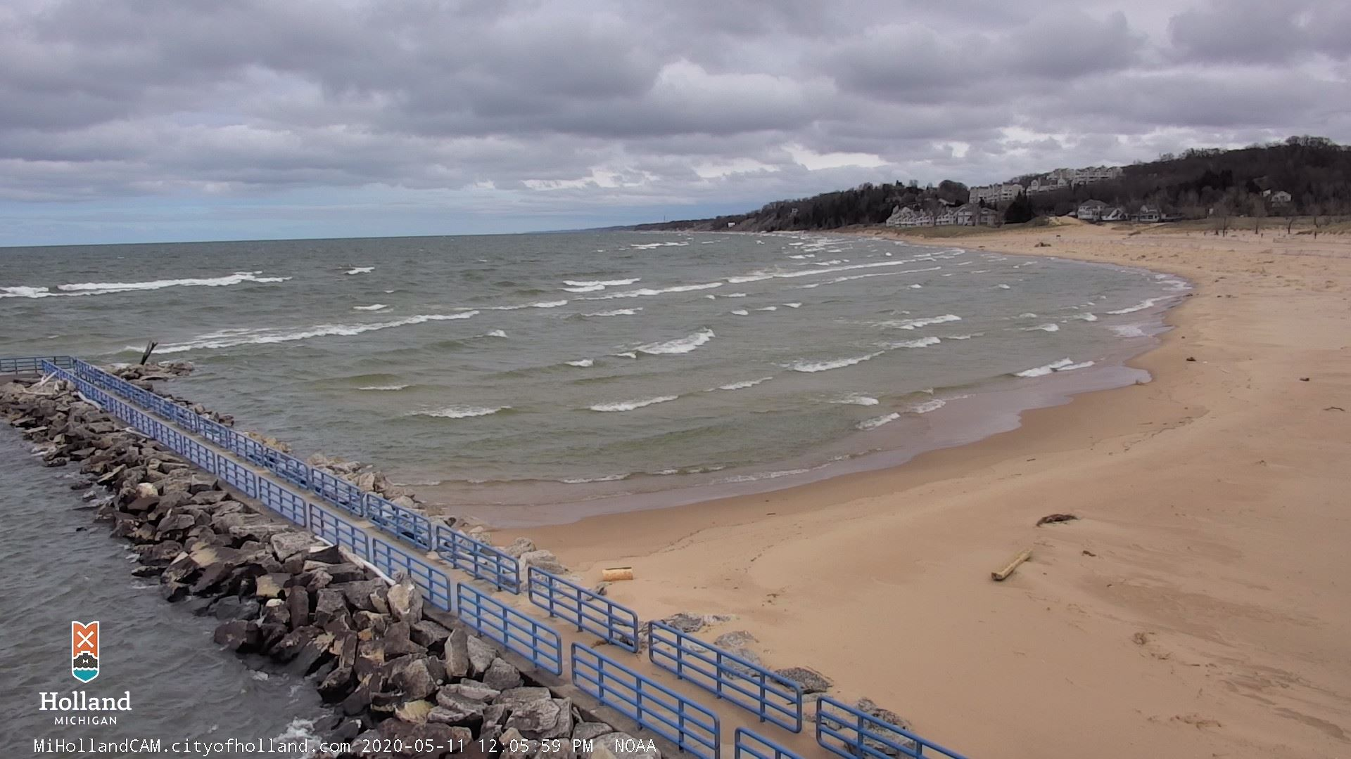 Holland State Park NOAA View Opens in new window