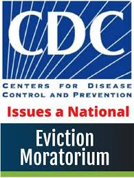cdc eviction moratorium