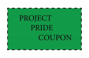 Project Pride Coupon
