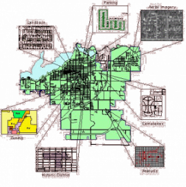 Example Geographic Information System Map of the City